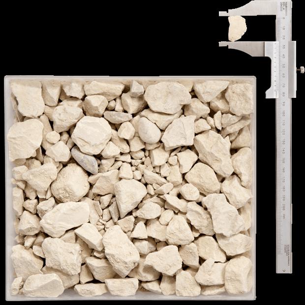 Gravier remblaiement Annecy - Concassé calcaire 0/315