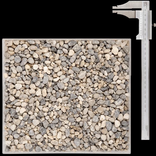 Gravier pour drainage maison Annecy - Ceccon Béton Carrières - Gravillon lavé 4/11.2 RL (NF EN 12 620)